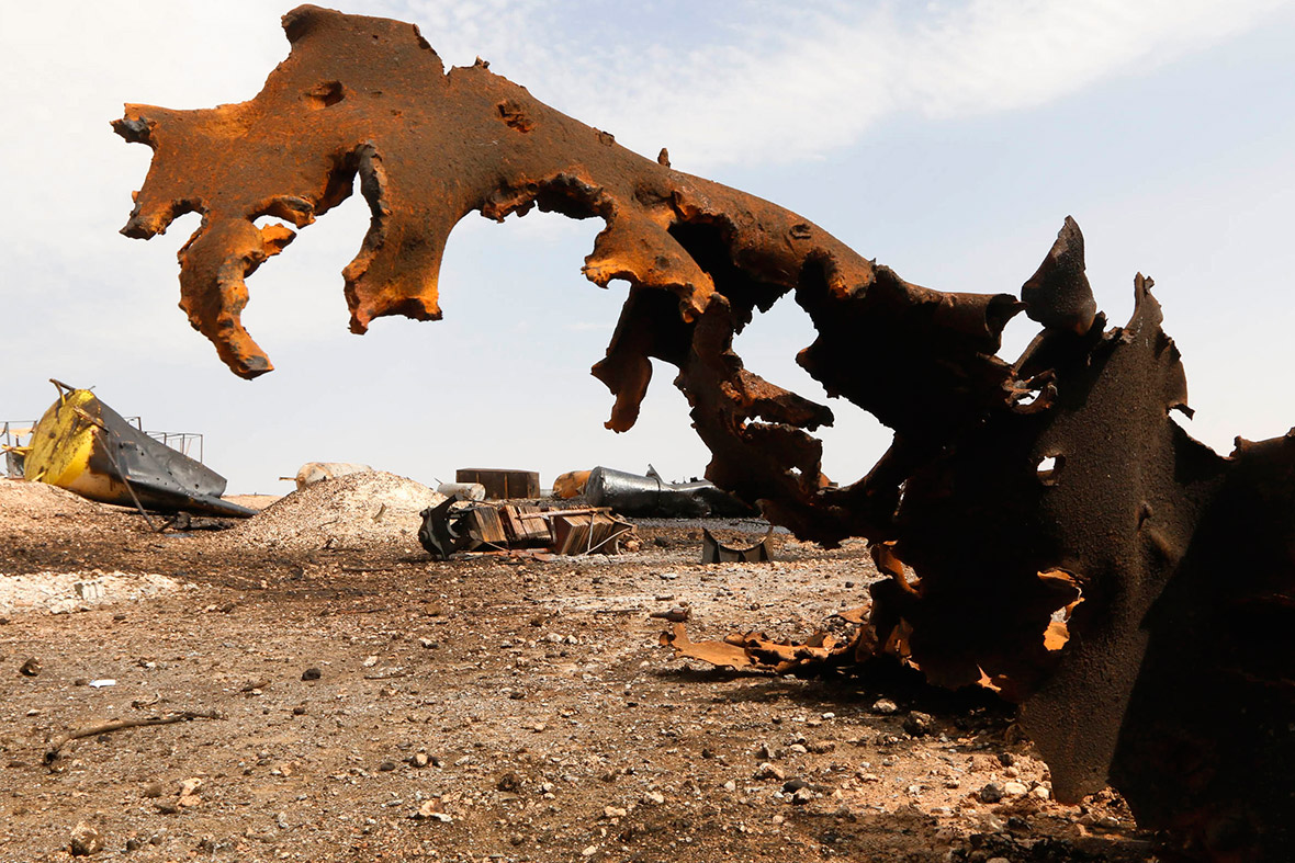 isis oil refinery
