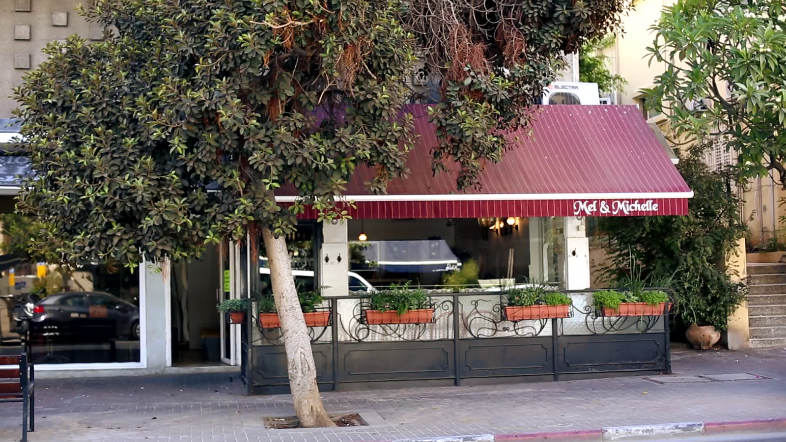 Inside Israel: Tel Aviv's Beachfront Restaurant Hub Turns into a Ghost Town