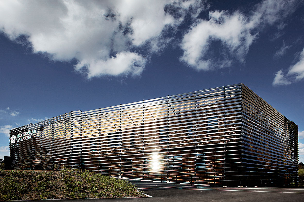 Higher Education and Research: Dalarna Media Library by Adept