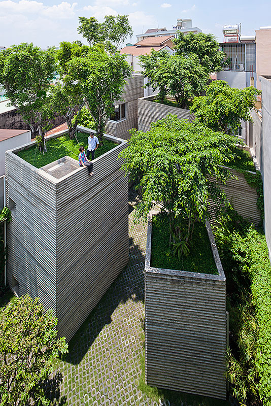 House: House for Trees by Vo Trong Nghia Architects