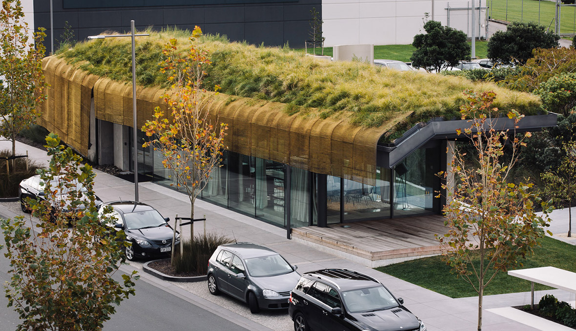 Display: Te Kaitaka 'The Cloak' by Fearon Hay Architects