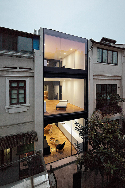 New and old: Rethinking the Split House by Neri&Hu