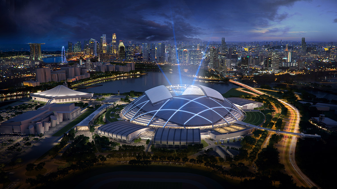 Sport: Singapore Sports Hub by Singapore Sports Hub Design Team