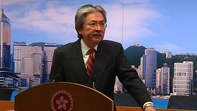 Hong Kong at 'Critical Juncture' - Financial Secretary