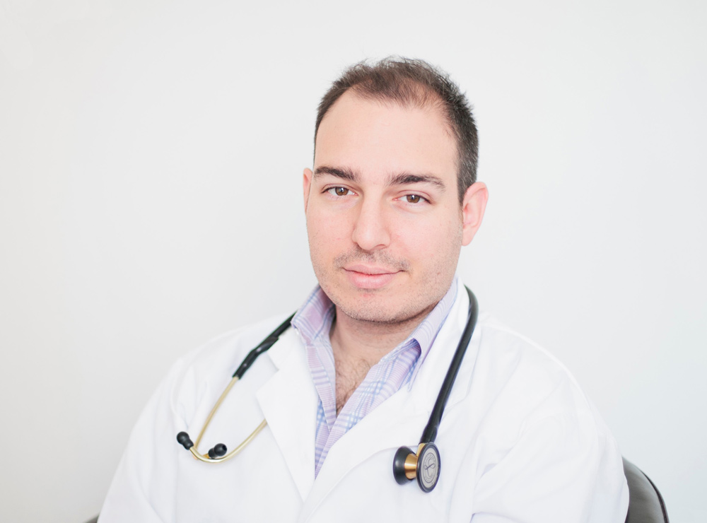 Dr Joshua Landy, founder of medical startup Figure 1