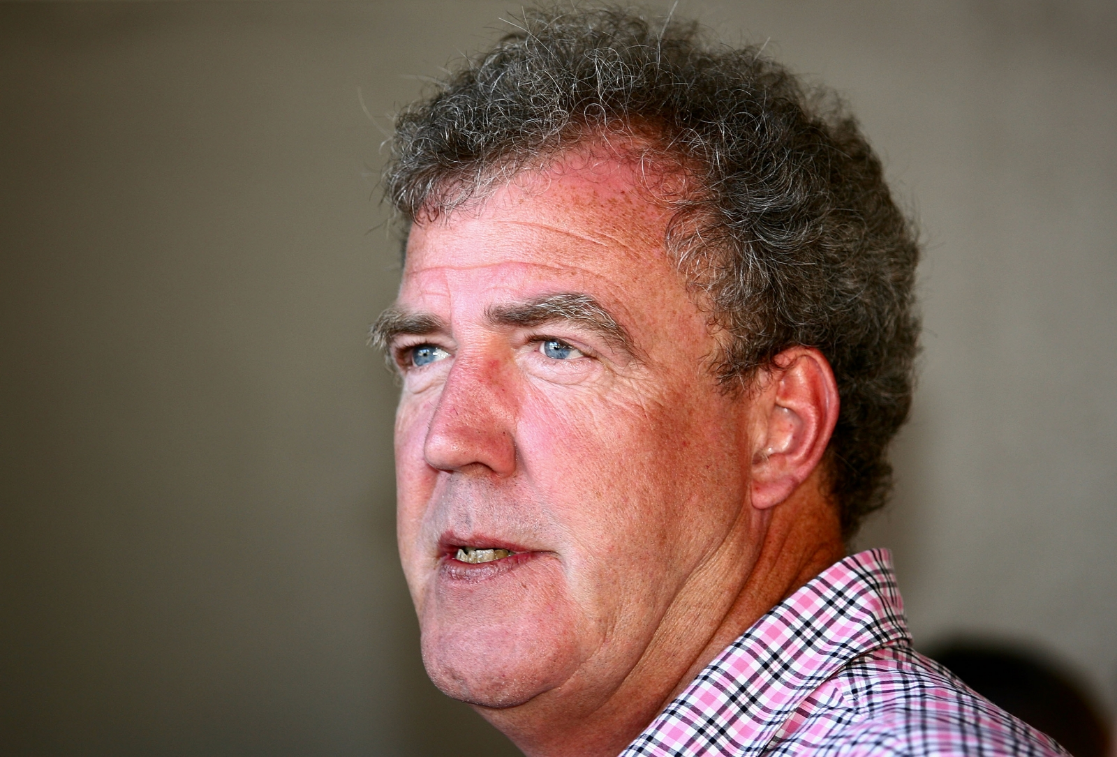 BBC presenter Jeremy Clarkson finds himself in hot water again. (Getty)