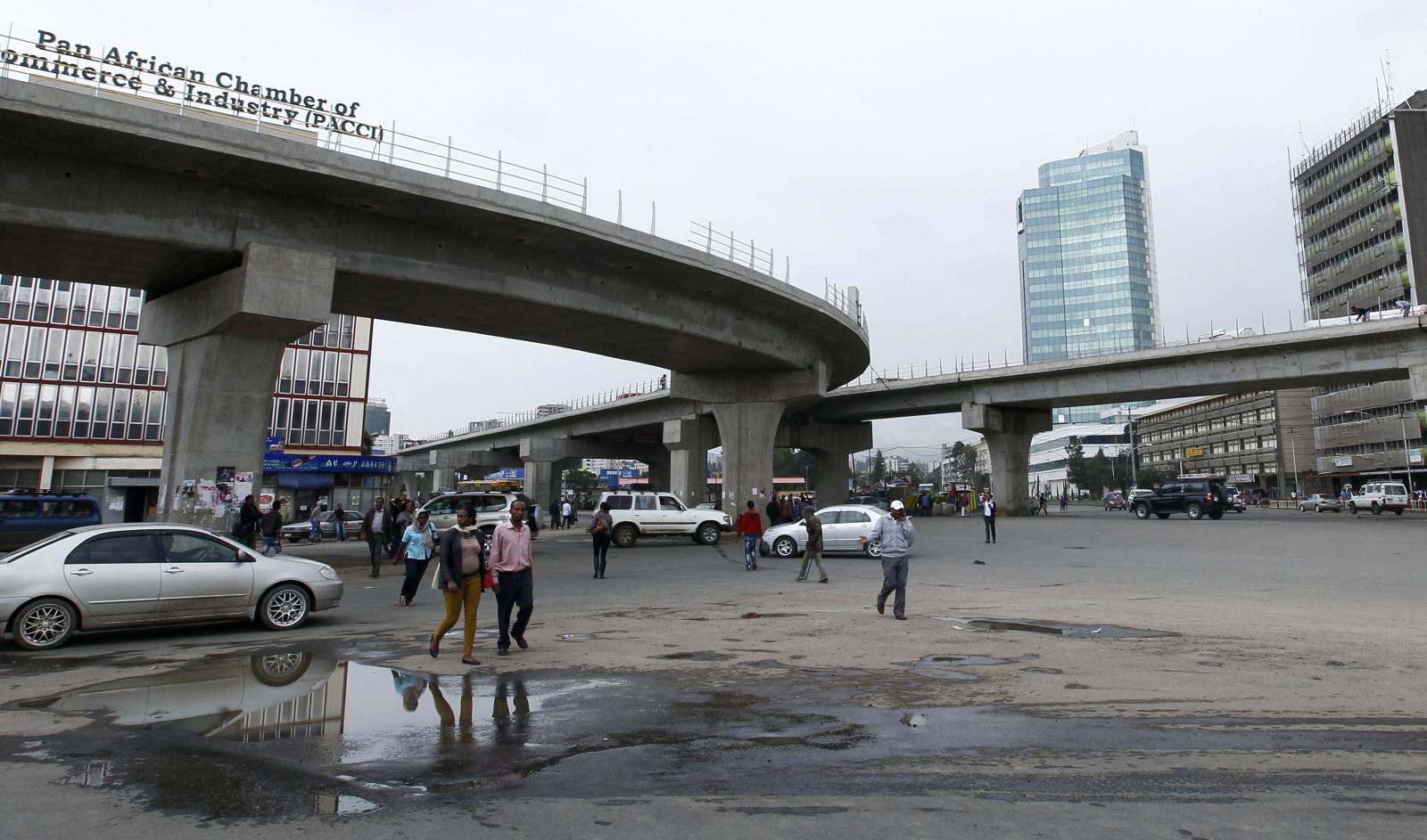 Ethiopian capital Addis Ababa