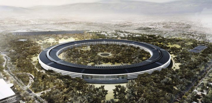 Proposed new Apple campus in Cupertino, California