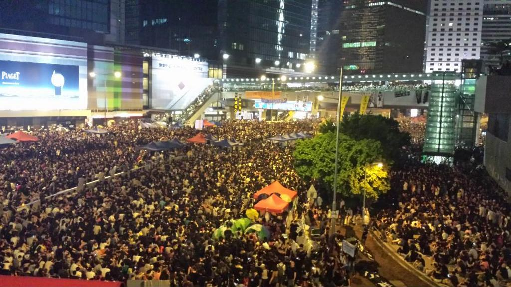 Hong Kong Occupy Central Protests - 4 October