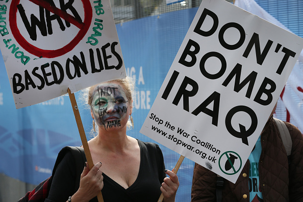 Anti-War protests