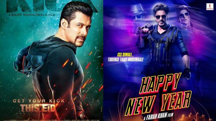Shahrukh Khan and Salman Khan Rivalry: SRK\'s \'Happy New