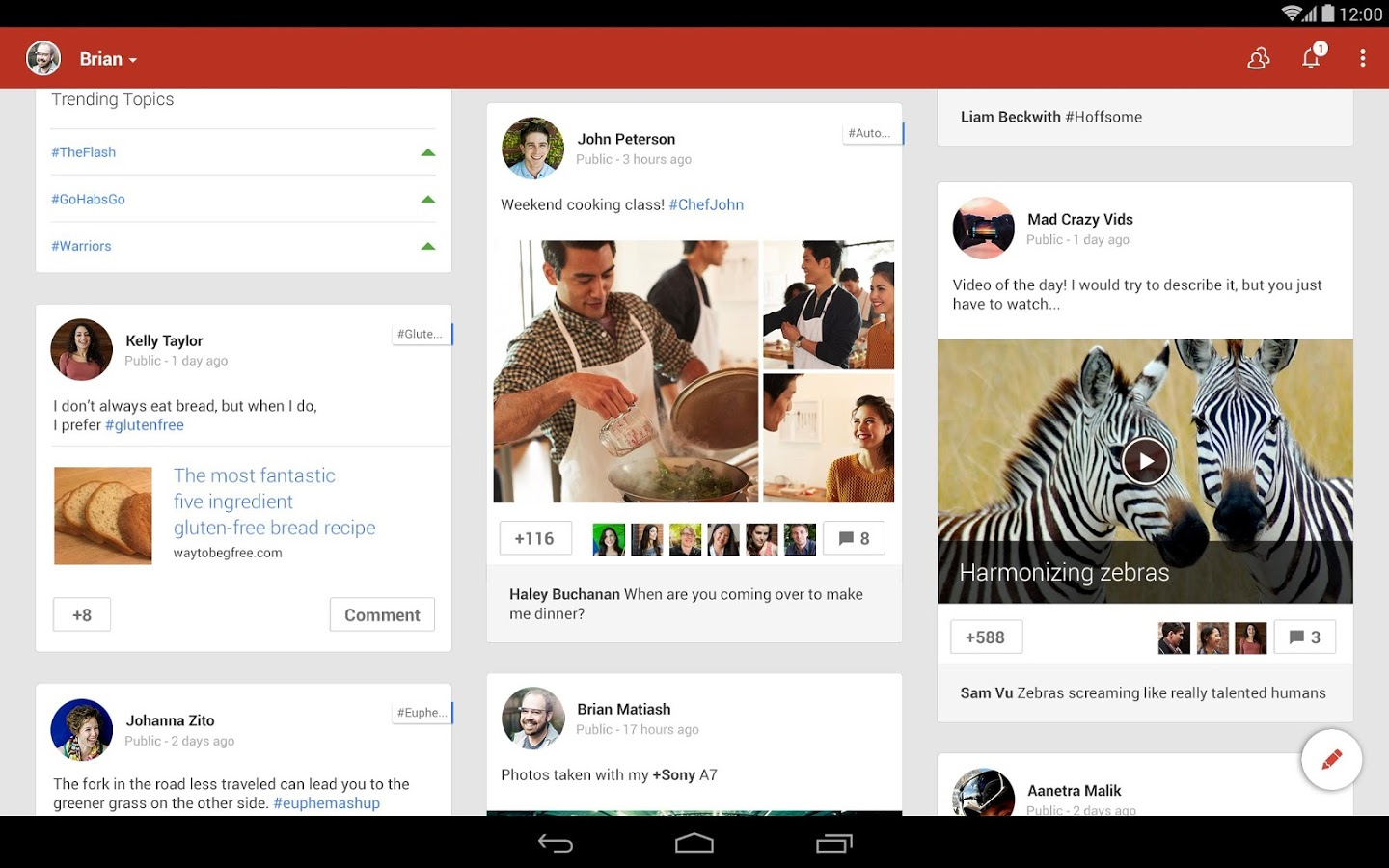 Google's Android L-Like Material Design now Available for Android Users with the Updated Google   App