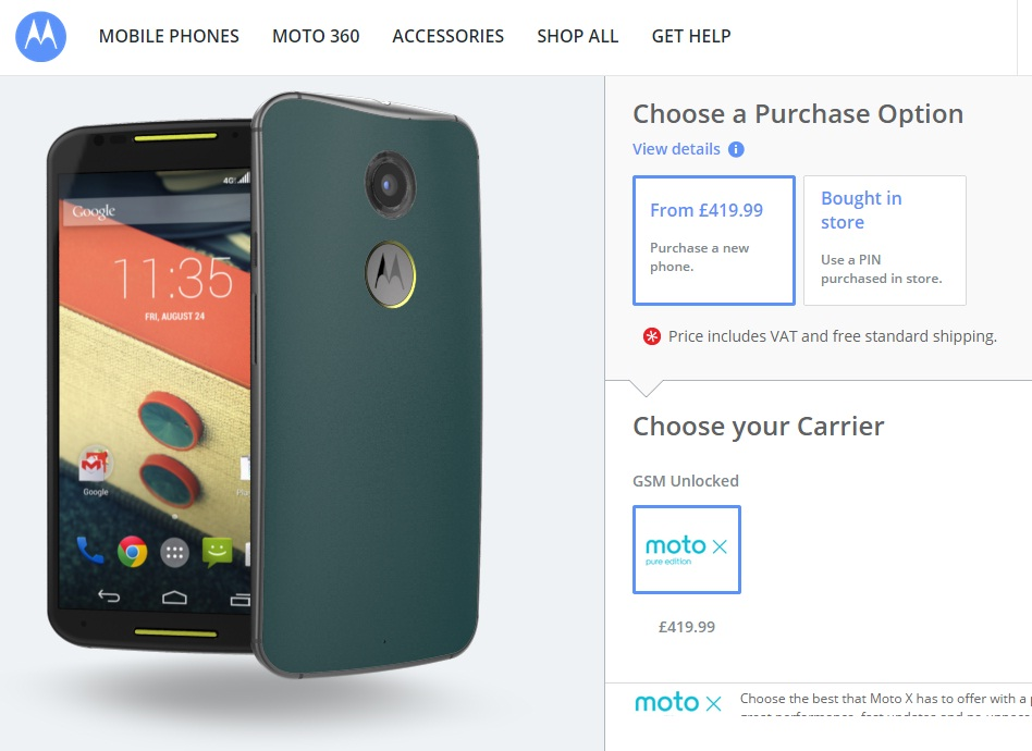 Motorola Seemingly Begins Android L 'Lollipop' Rollout to Certain Second-Gen Moto X Users: Check Your Devices Now