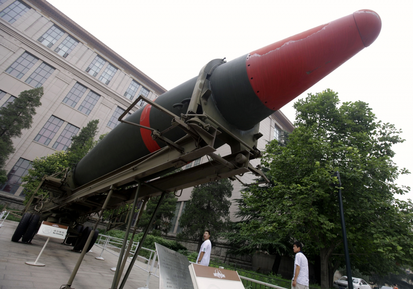 China Launches Test Missile Capable of Carrying Nuclear ...