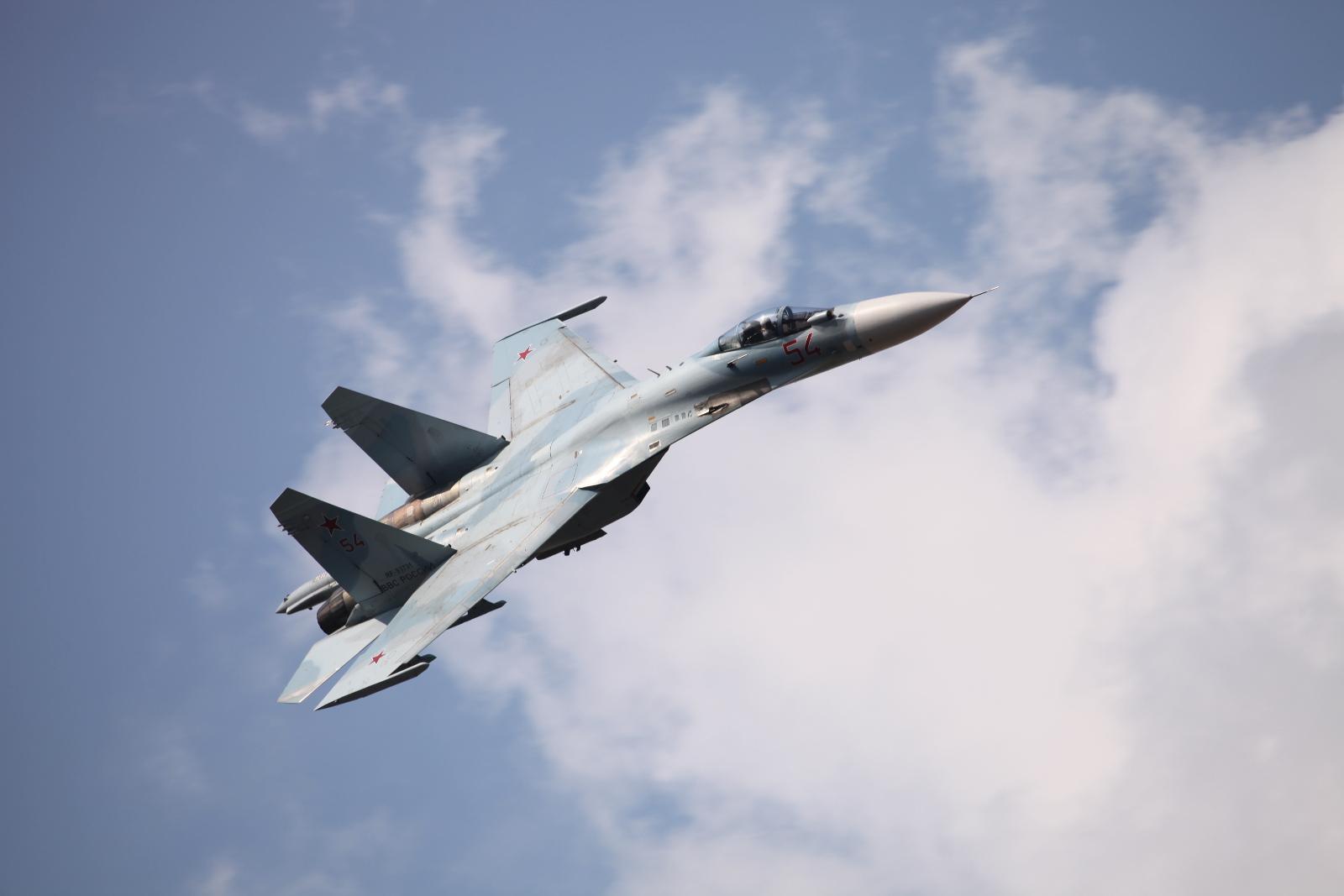 Russia Air Force SU-27