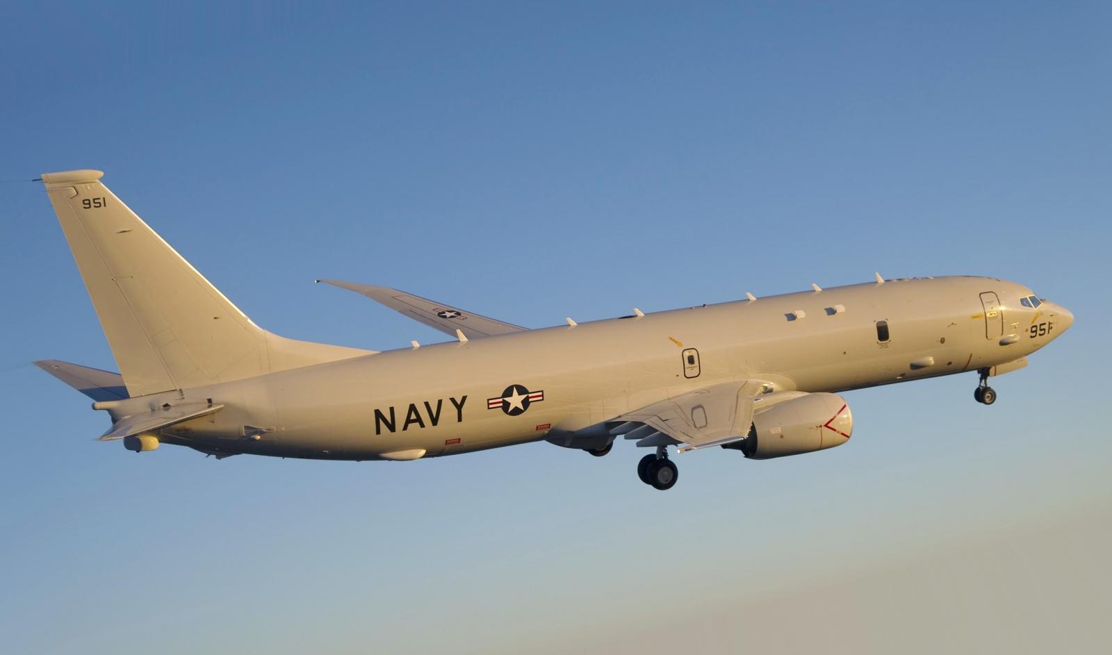 US Navy P-8 Poseidon