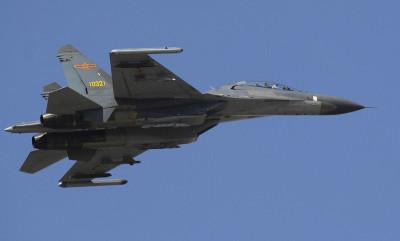 China Air Force Shenyang J-11