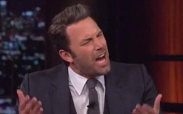 Ben Affleck on last night's Bill Maher show. (HBO)