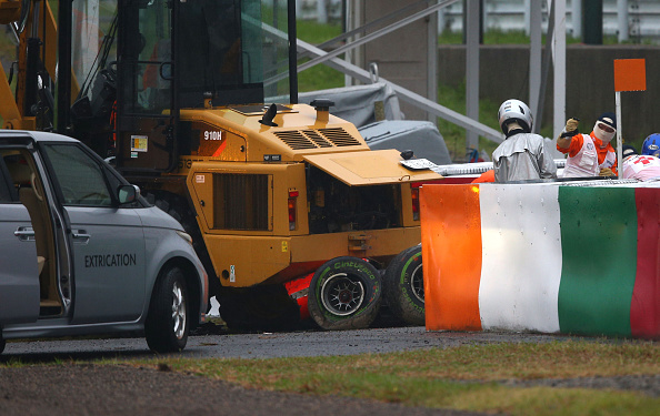 Jules Bianchi Crash