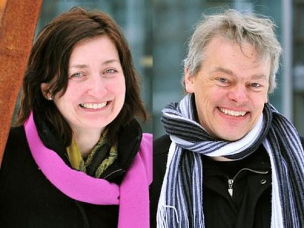 May‐Britt Moser and Edvard Moser