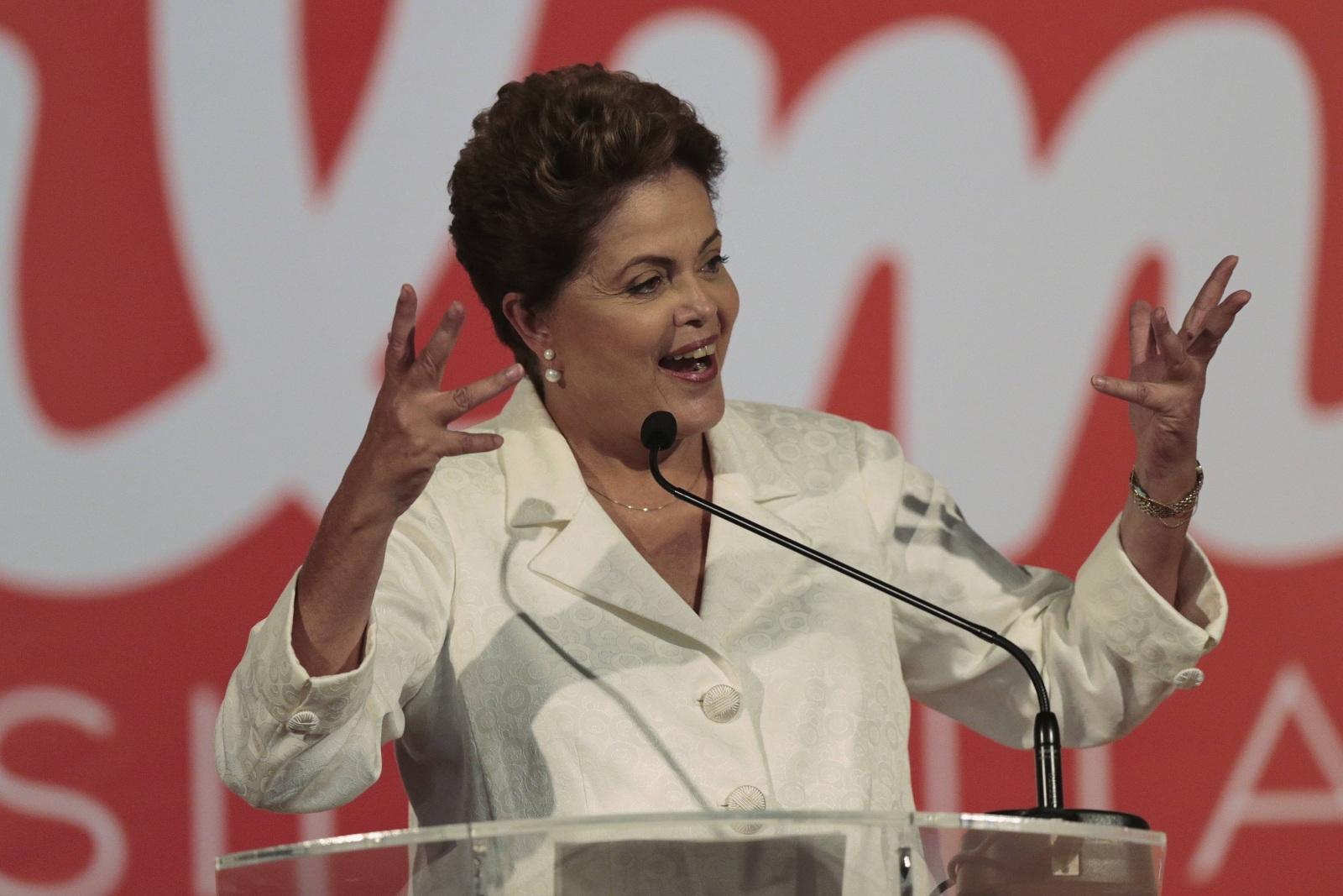 Brazil's Dilma Rousseff Advances to Second-Round in Tight Re-Election Campaign