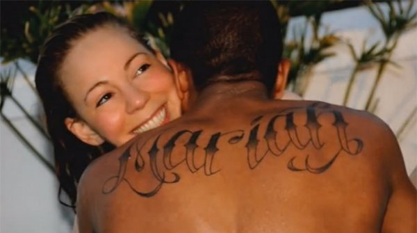 mariah carey nick kanone tattoo