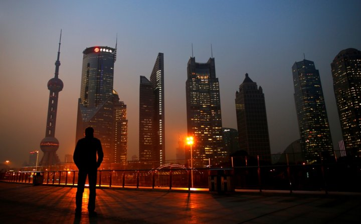 Financial District Shanghai China