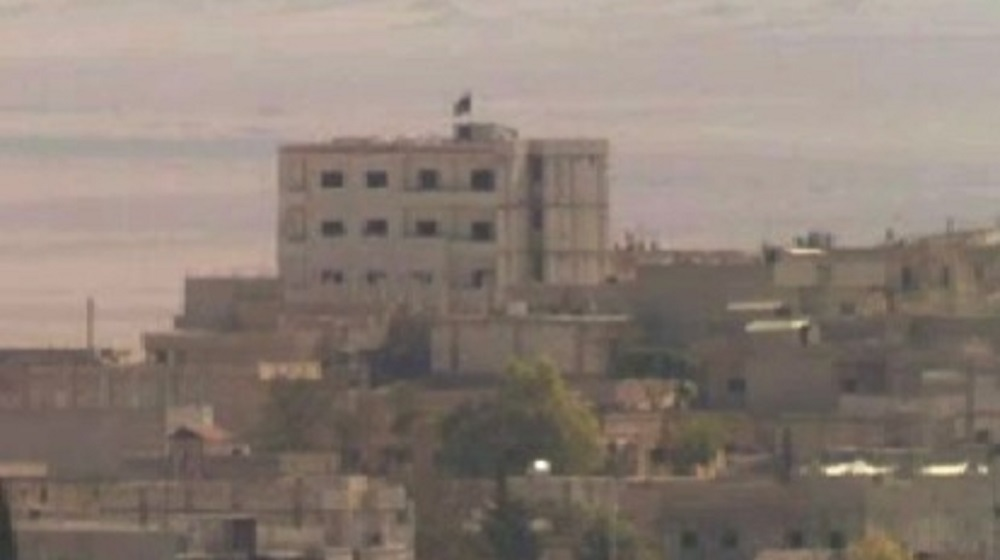 Syria Isis Flag Flies over Kobani