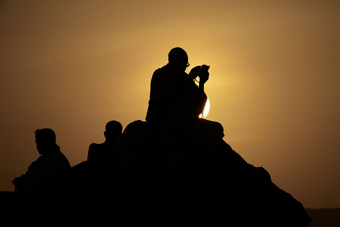 arafat silhouette