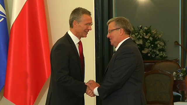 New NATO Chief Reaffirms Eastern Allies