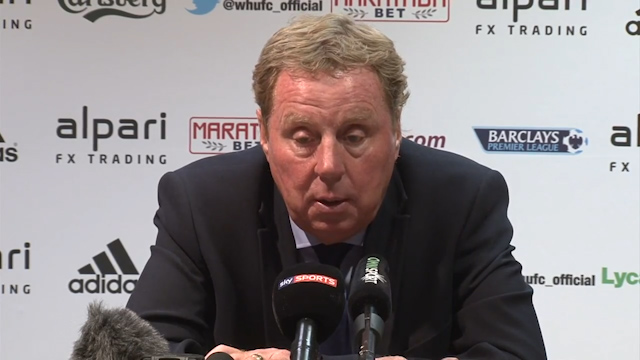 Redknapp: My Players are Not Fit Enough