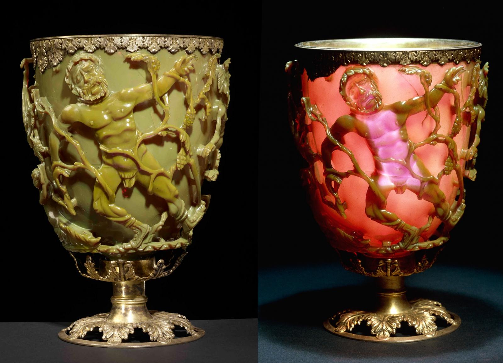 Resultado de imagen de lycurgus cup