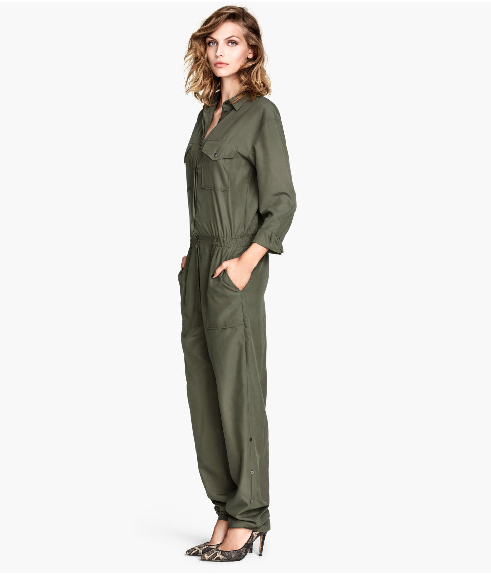 H&M jumpsuit which some Kurds believe is closely modelled on uniforms worn by female Kurdish fighters