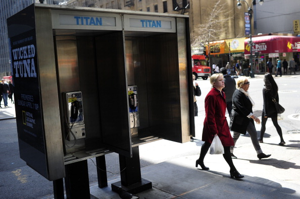 NYC Phone booth