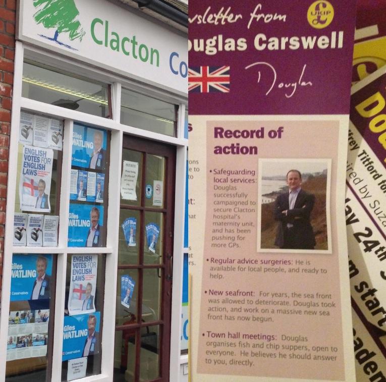 Clacton leaflets