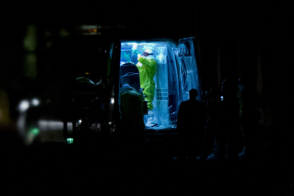 Ebola Spanish  nurse Carlos III Madrid