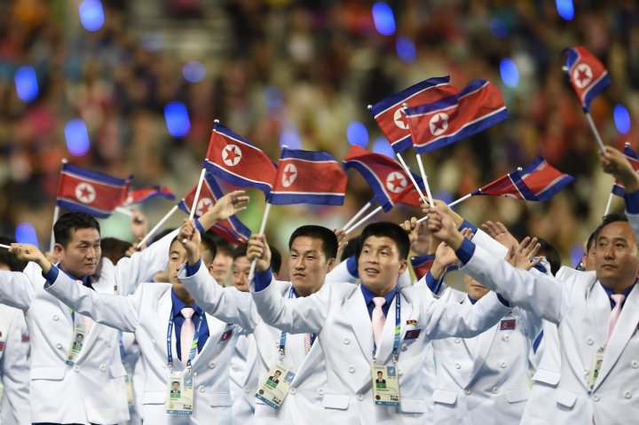 Kim Jong-un was missing from homecoming parade of North Korean athletes from Asian Games