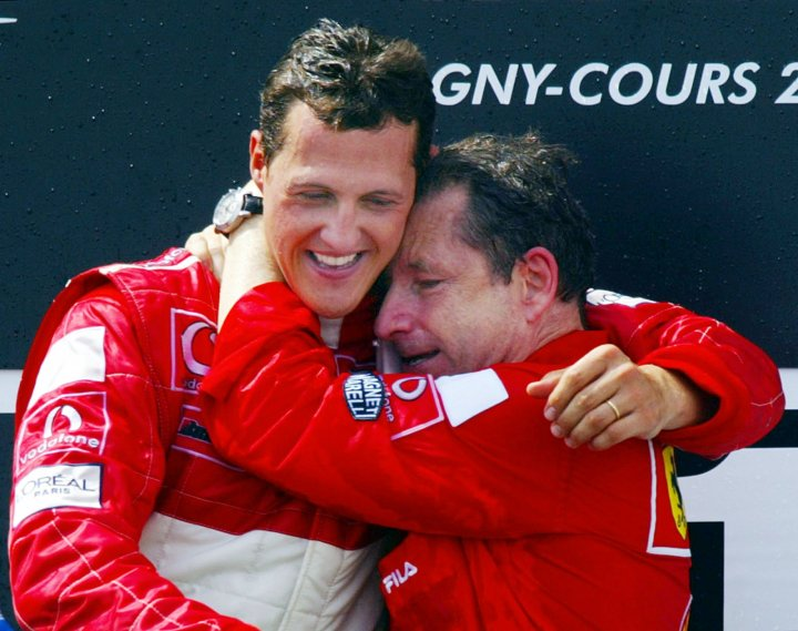 Jean Todt and Michael Schumacher forged a close bond at Ferrari during glory years