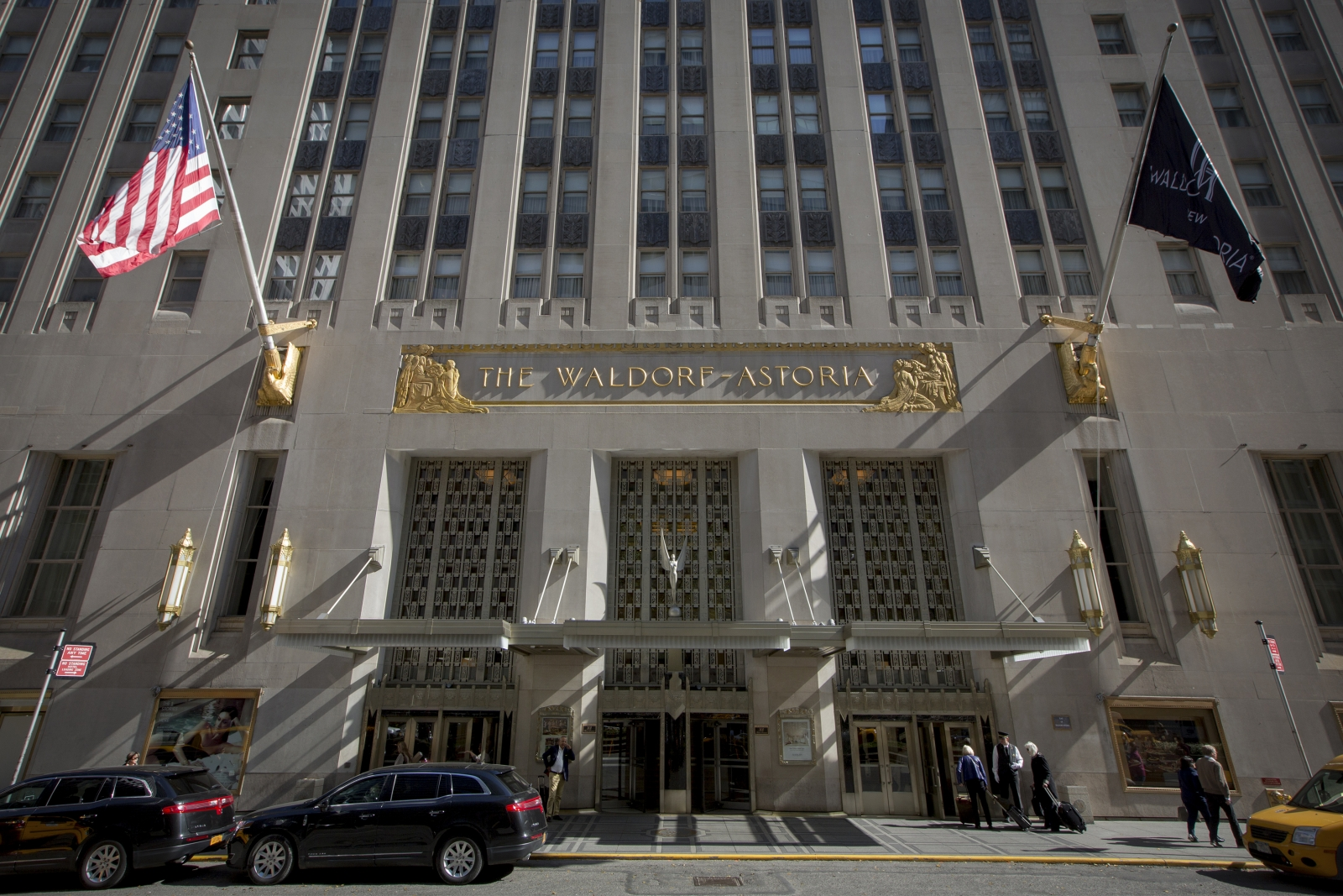 New York's Waldorf Astoria