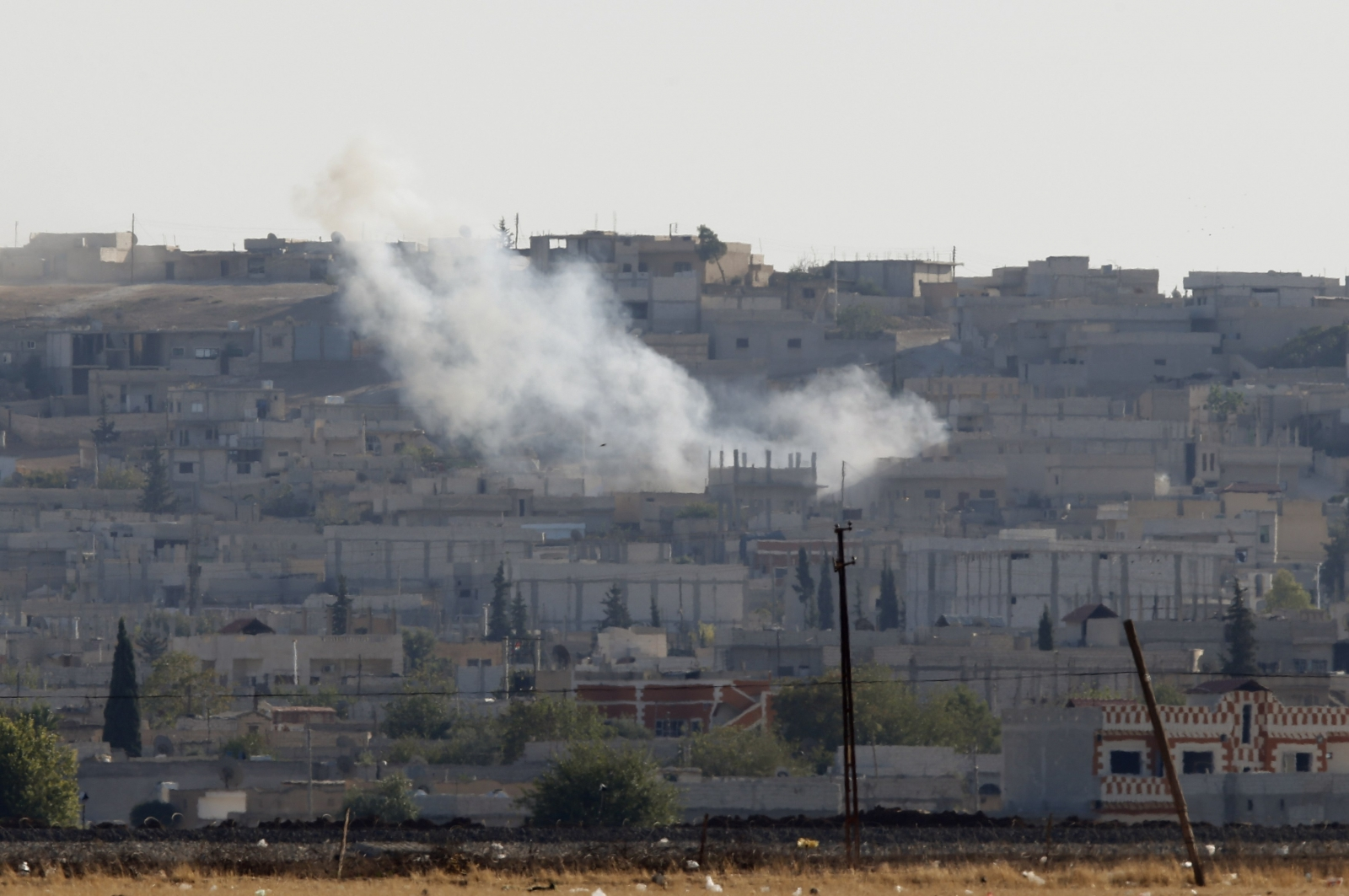 Kurds Take to Streets to Protest Islamic State Assault on Kobani