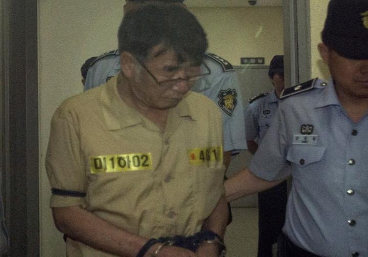 Lee Joon-seok captain Sewol ferry sentenced South Korea
