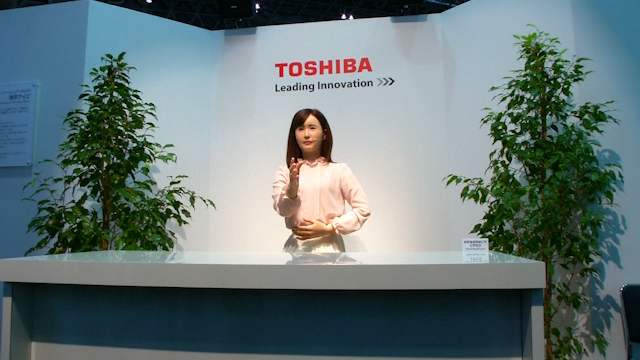 Robots Take Stage at CEATEC as Sony Stays Away