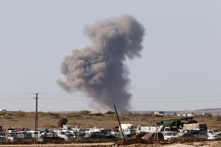 Unrest in Syrian-Turkish border town of Kobani