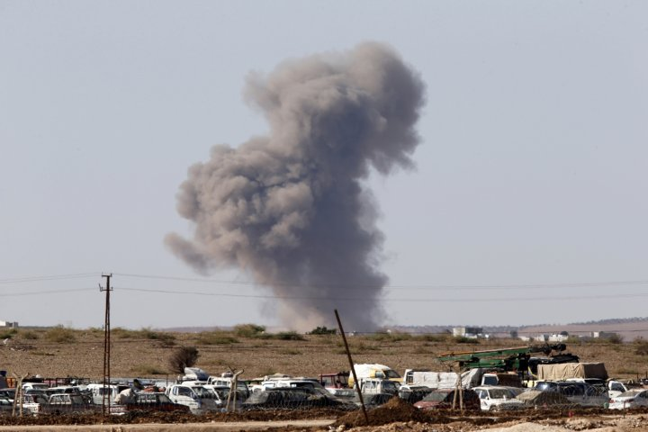 Unrest in Syrian-Turkish border town of Kobani