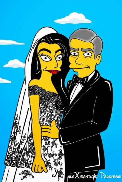 Amal Alamuddin and George Clooney Wedding
