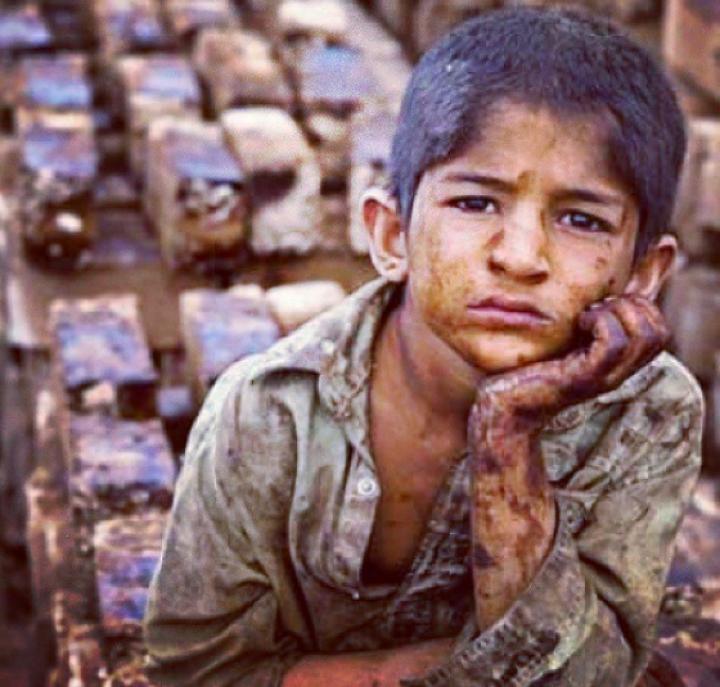 Poor kids of Tehran