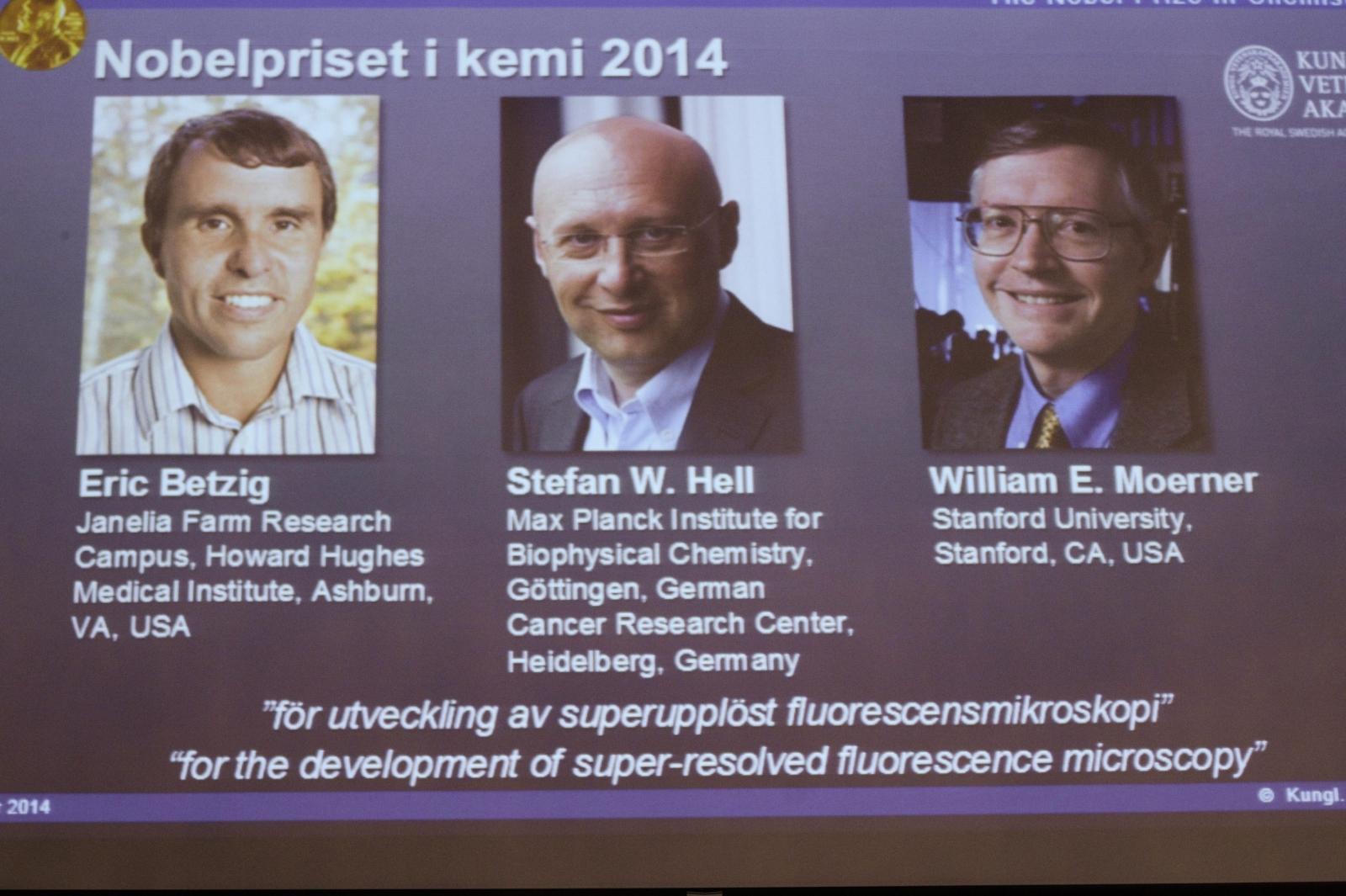 nobel prize chemistry 2014