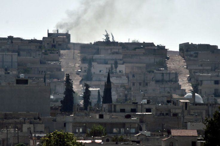 Kobani before and after