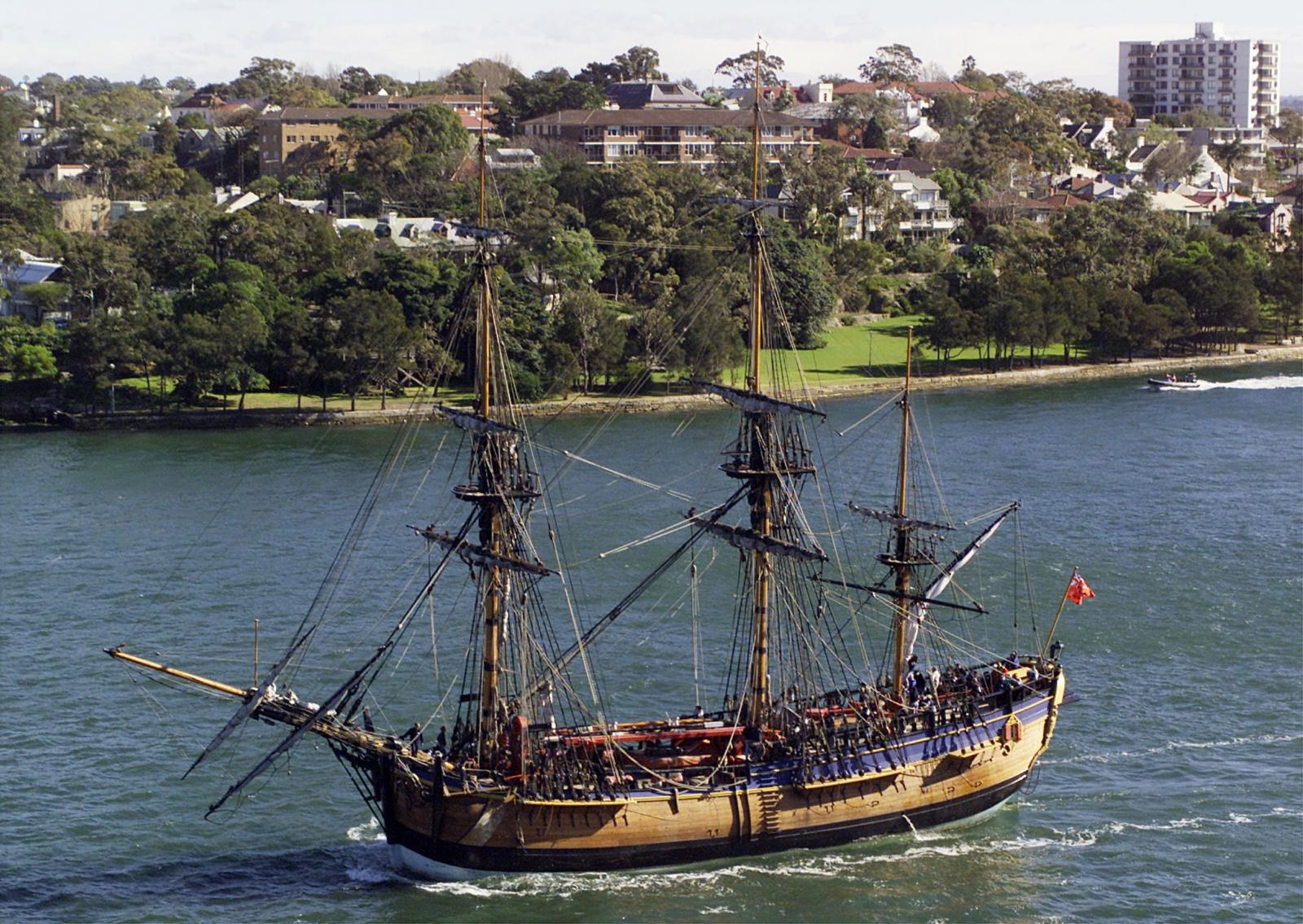 HMS Endeavour Replica