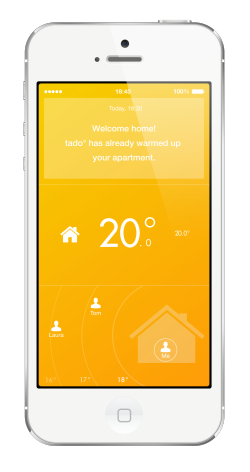 tado thermostat smart home